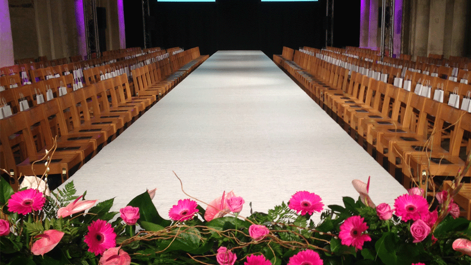 Catwalk Hire 5 with carpet